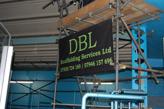 Specialist scaffolding - Camera support for dancing on ice